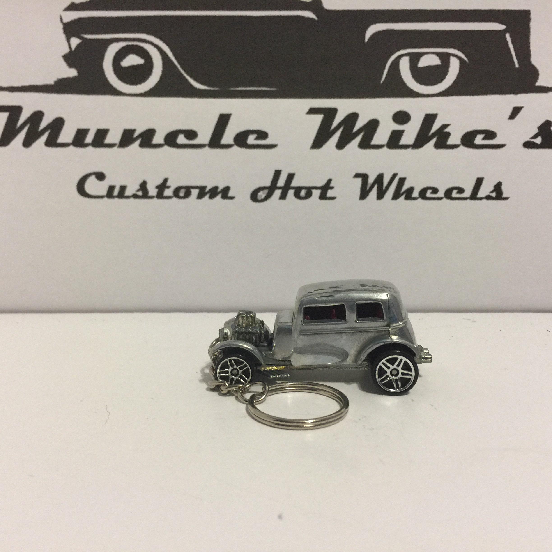 Custom Hot Wheels hand polished '1932 Ford Christmas Ornament,  Keychain or Zipper Pull