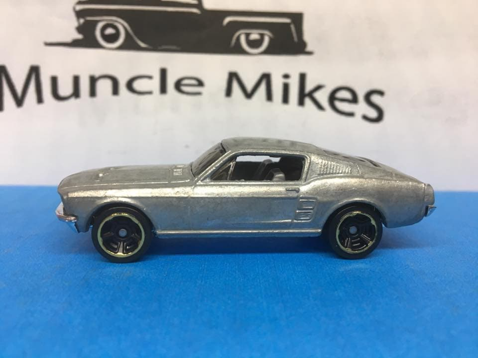 Custom Hot Wheels 1967 Mustang Fastback Eleanor Bare Metal