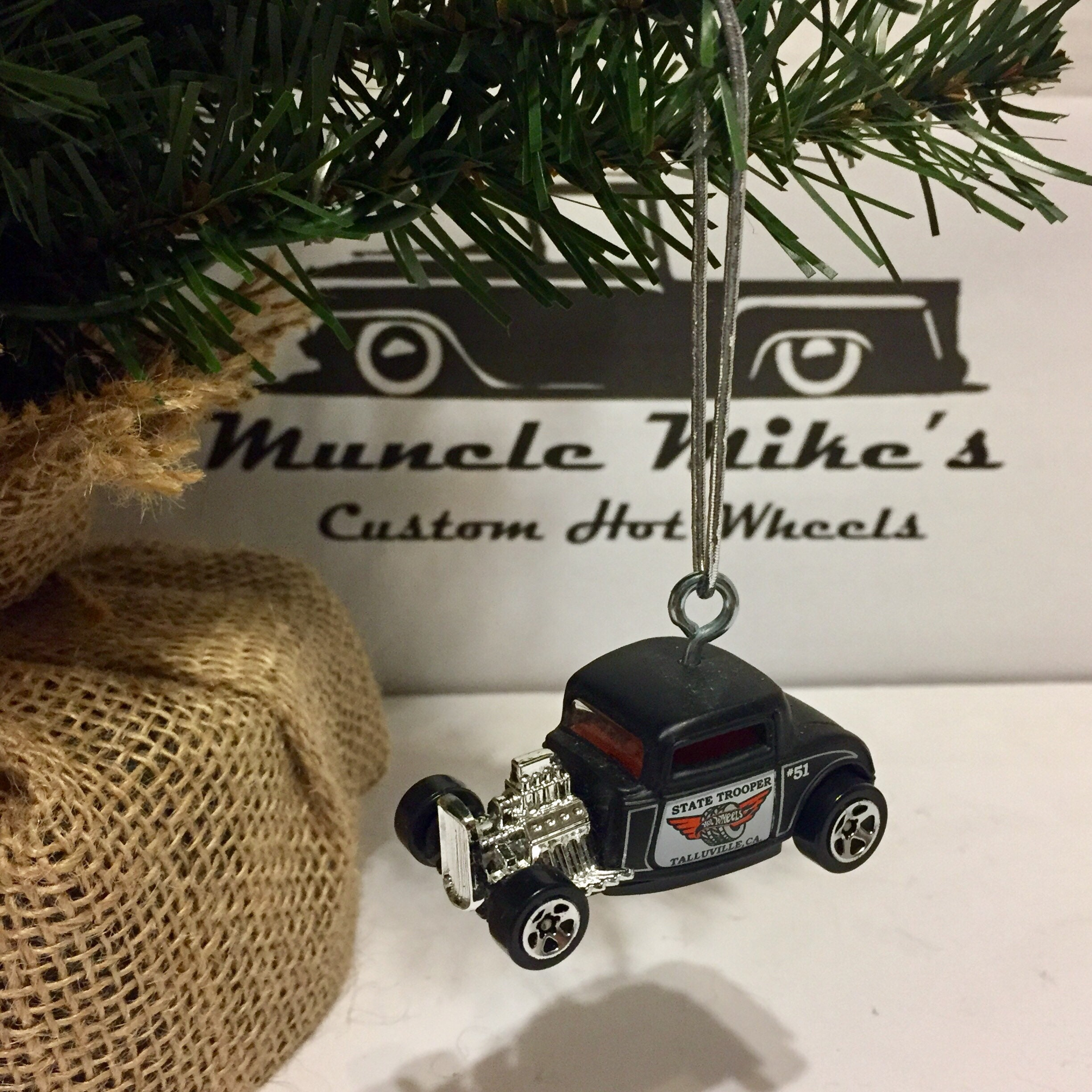 Hot Wheels Christmas Ornament state trooper 1932 Ford ...</p>                               <a href=
