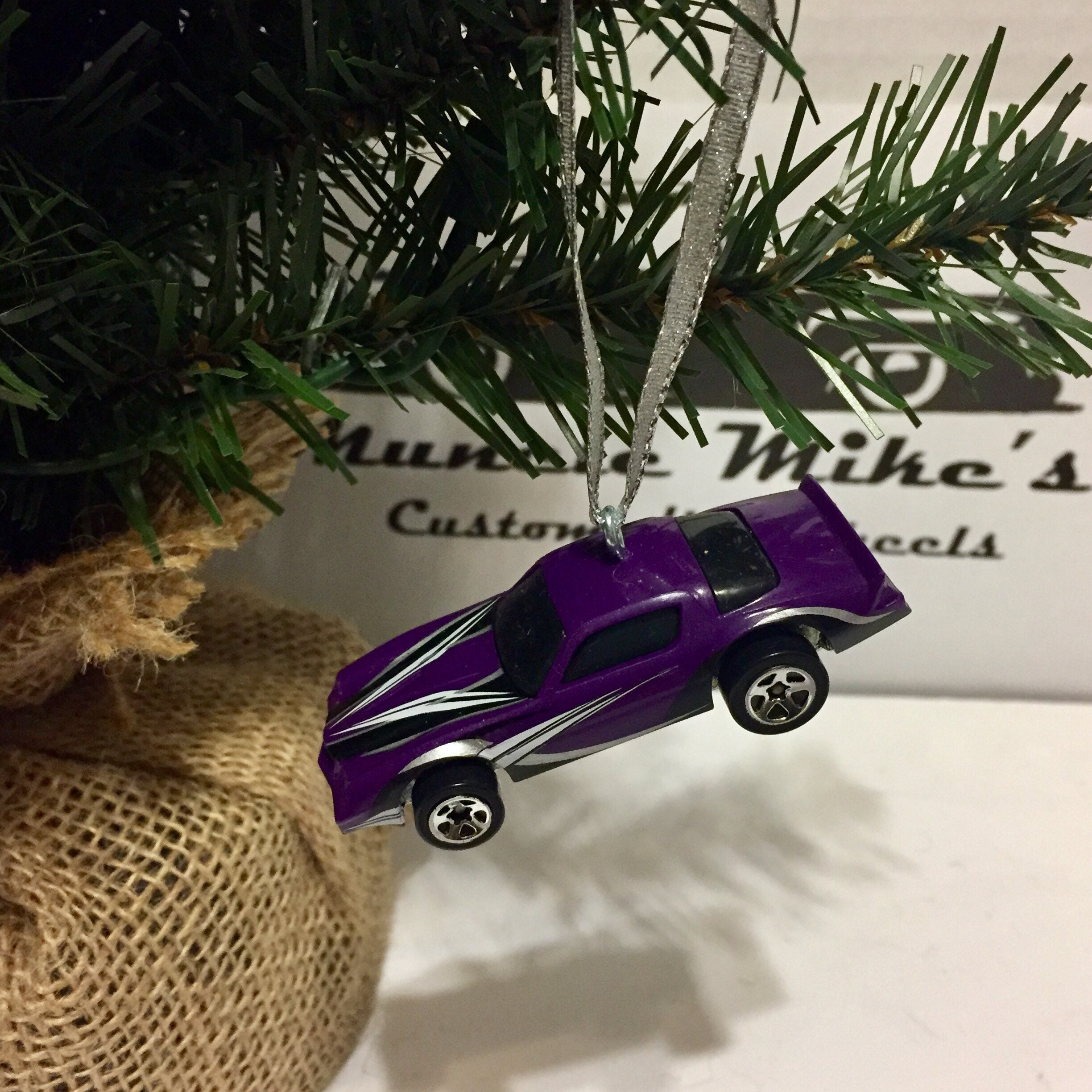 Hot Wheels Christmas Ornament 1982 Camaro Z28 Z-28 purple