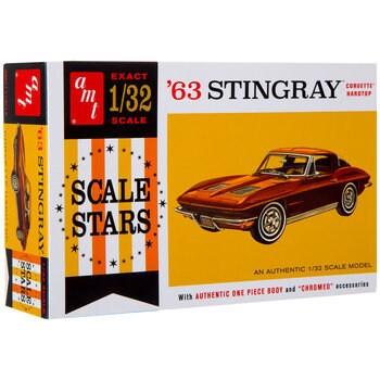 Collectible Plastic Model Kit: 1963 Corvette Stingray Model Kit