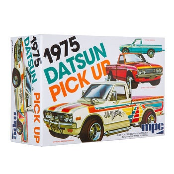 Collectible Plastic Model Kit: 1975 Datsun Pick Up Model Kit
