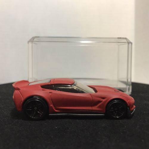 Custom Hot Wheels Chevrolet Corvette C7 Z06 Flat Red