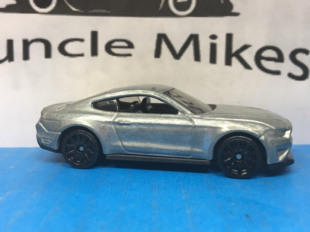 Custom Hot Wheels 2018 Ford Mustang GT Muscle Car Hot Rod BARE METAL