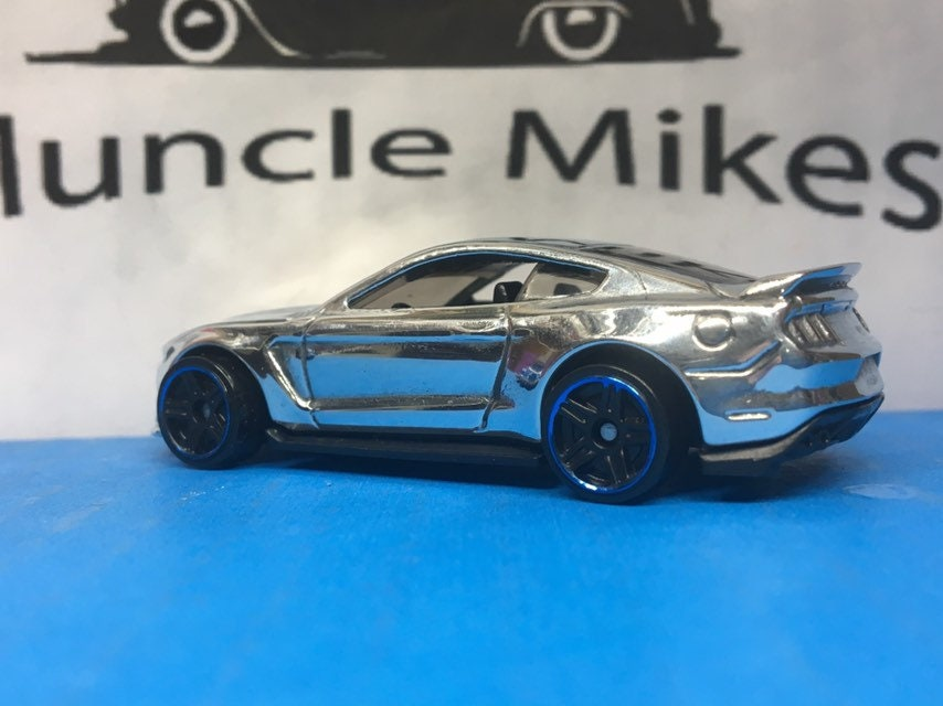 Custom Hot Wheels Ford Shelby Gt350r: POLISHED With Display Case, Cake Topper, Keychain, Zipper Pull, Ornament - Buyer Choice