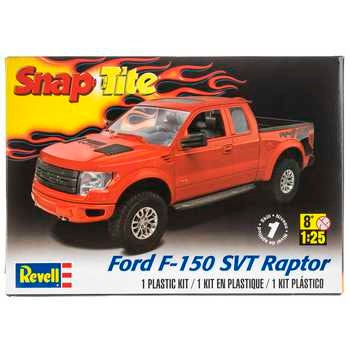 Collectible Plastic Model Kit: Ford F-150 SVT Raptor Snap-Tite Model Car Kit Free Shipping!
