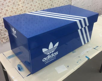 large adidas shoe box