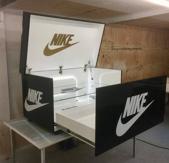 Led Étagère Et Boîte Géante Lumières Chaussure Avec EnEtsy Nike vm8nwOyN0