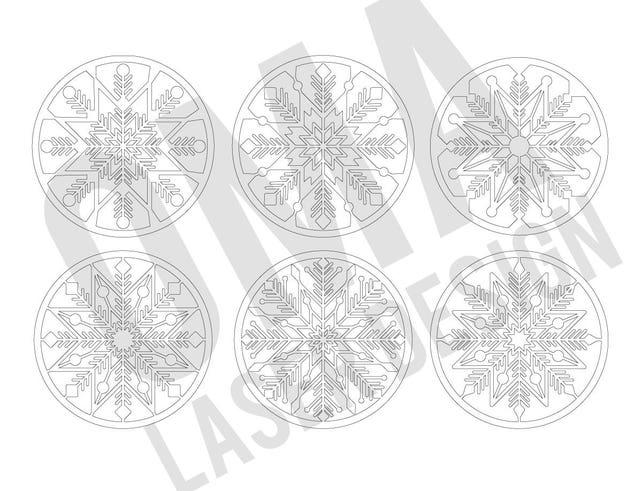 Mandala Templates for Laser Cutting Laser Cut Wooden Mandala | Etsy