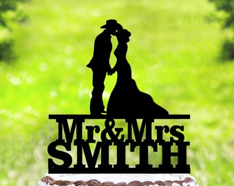 Cowboy Wedding Cake Topper,Country Cake Topper,Western Cake Topper,Country Wedding Cake Topper,bride and groom Cake Topper (2010)