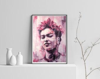 Frida Kahlo Plakat Etsy