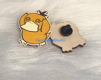 Psyduck Wood Pin