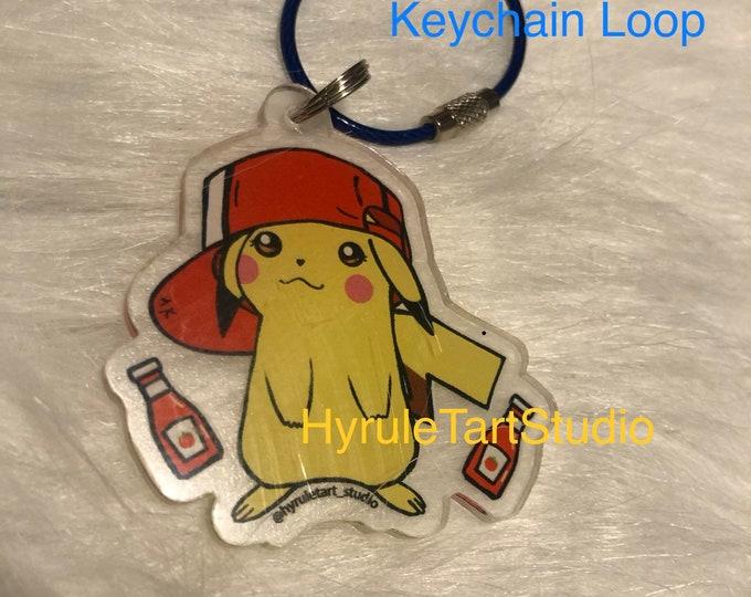 Pikachu Keychain charm
