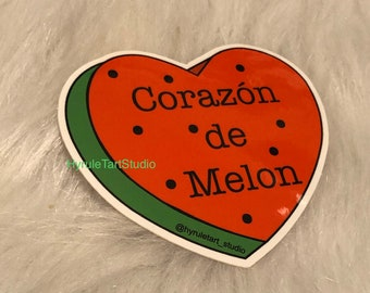 Corazon de Melon, Spanish Stickers