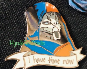 I Have Time Now, Exo Stranger Quote Hard Enamel Pin