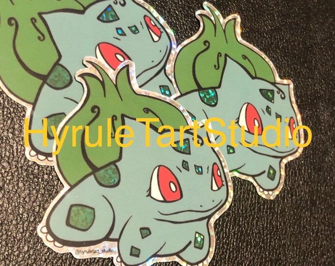 Bulbasaur Glitter Stickers