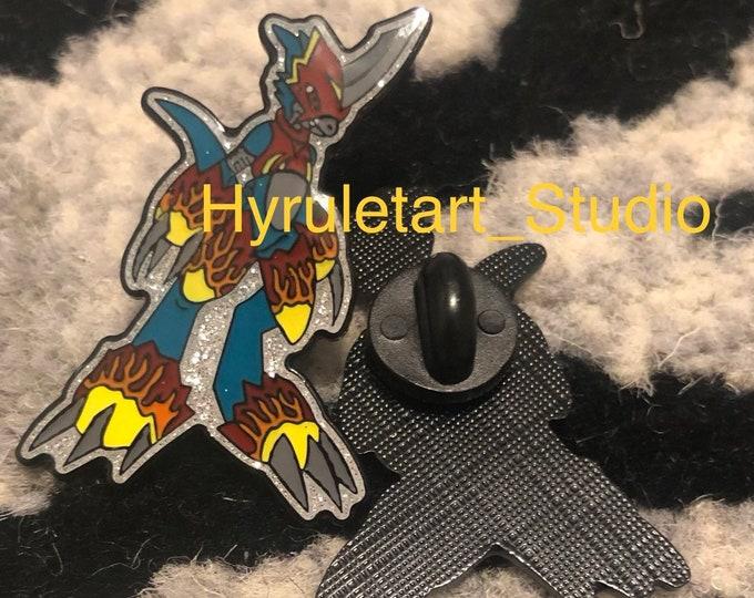 Flamedramon Pin Digimon
