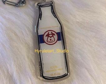 MooMoo Milk Keychain Charm