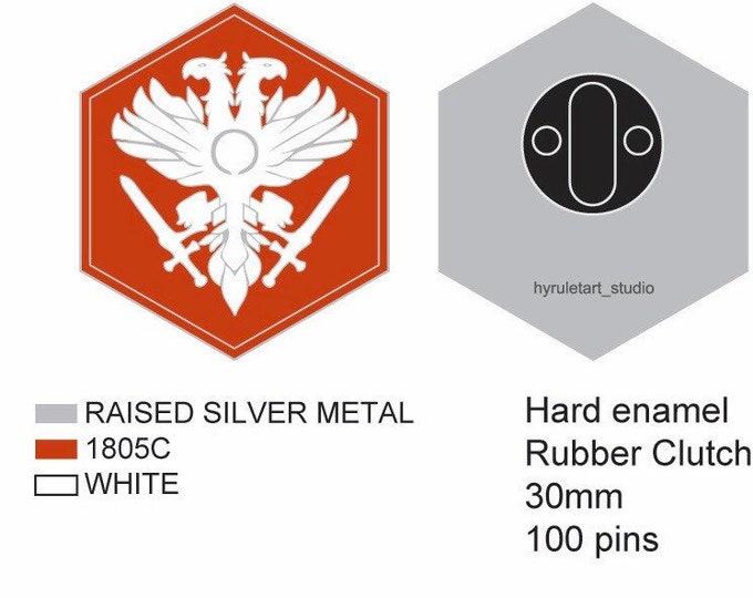 Destiny Crucible Logo Pin *PREORDER*