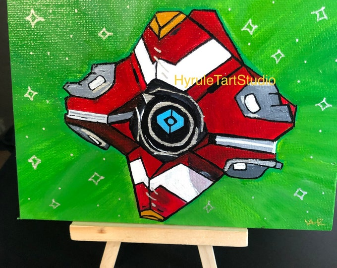 Frontier Companion Painting