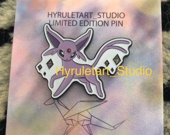 Espeon Soft Enamel Pin