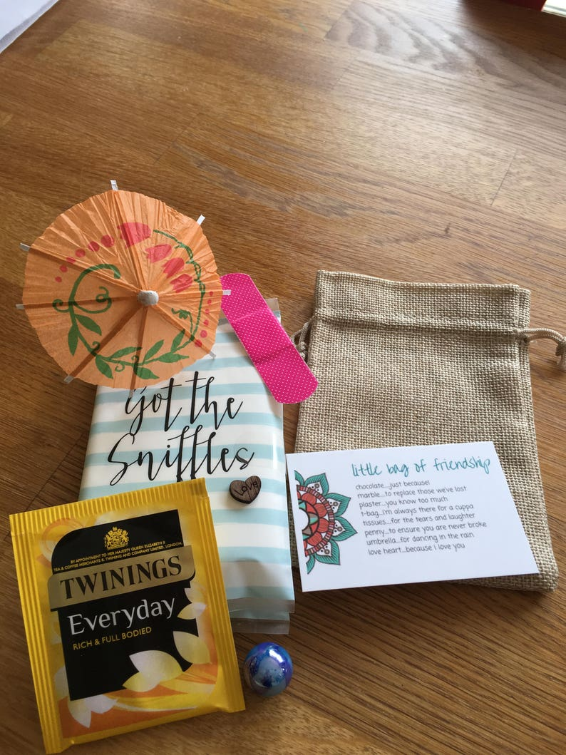 Little Bag Of Friendship Gift For Friend Positivity Mental