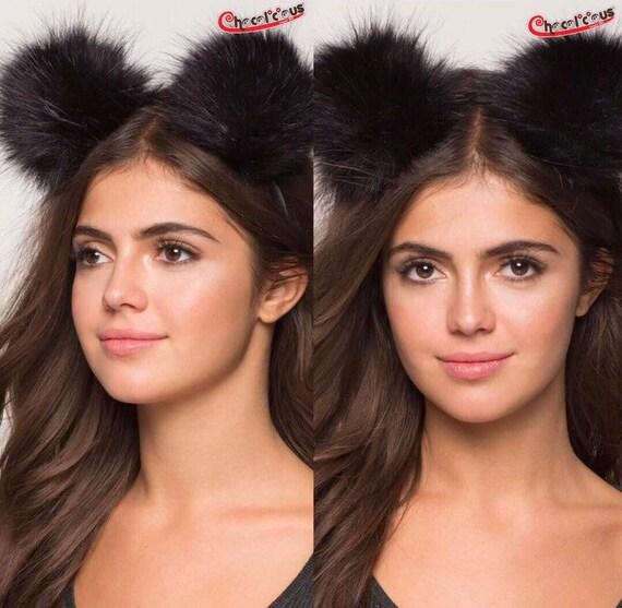 Fluffy Pompom Headband Pompom Fluffy Pompom Pompom  8b942ea4116