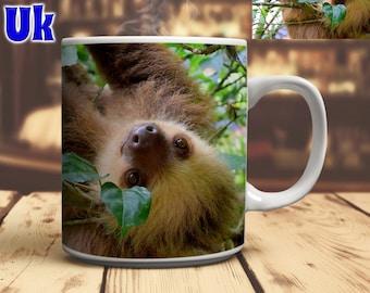 Sloth Coffee Mug Sloth Lover Gift