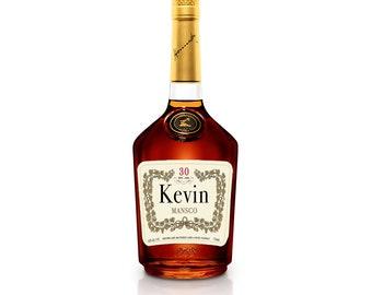 Hennessy Label Etsy - Liquor bottle labels template