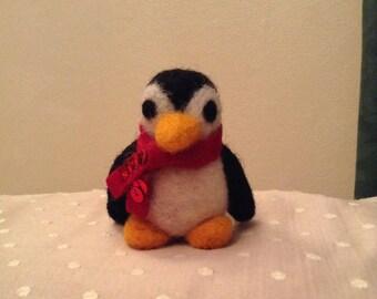 Needle Felted Penguin