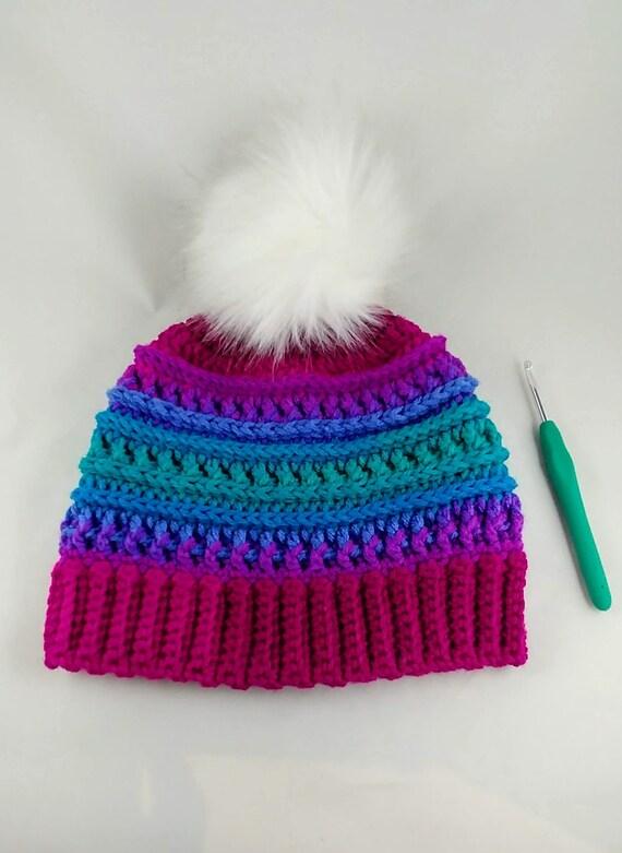 Fur Pom Pom Hat 114b1f7c68b
