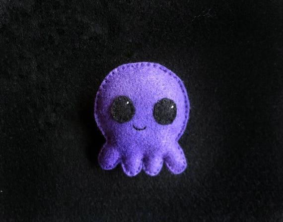 Cute Octopus with Organic Catnip Cat Toy