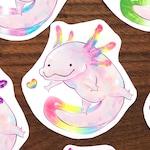 Pride Axolotls