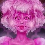 Pink Diamond Print