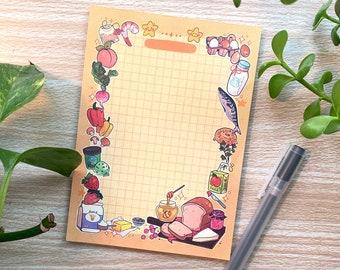 Cute Grocery List Memo Pad