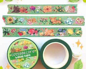 Cottagecore Washi Tape