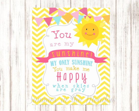 image about You Are My Sunshine Printable named On your own Are My Solar Printable 8x10, Occasion Indication, Wall Artwork, Playroom Artwork, Occasion Prop, Photograph Prop, Little one Shower
