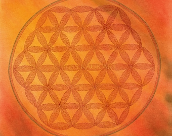 Sacred Geometry Mandala I - Flower of Life