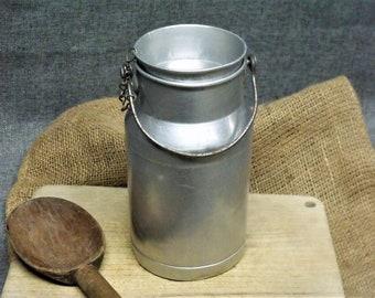 Vintage French Farmhouse Milk Can