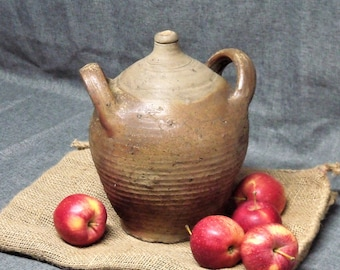 Antique French Earthenware Oil Jar