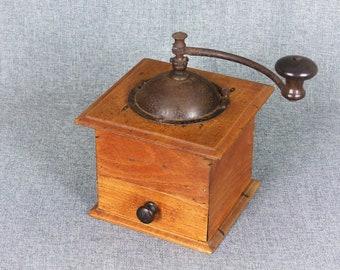 Vintage French Large PEUGEOT Coffee Grinder