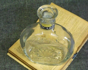 """Vintage """"RICARD"""" French Café Water Carafe"""