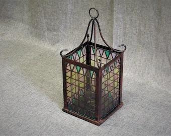 Vintage French Candle Lantern