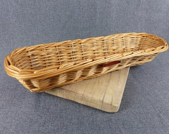 Rustic French Boulangerie Baguette Basket