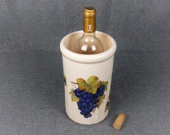 French DIGOIN Stoneware 'Brique à Vin' Wine Cooler