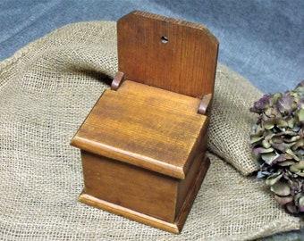Vintage Pine Farmhouse Wall Box