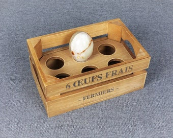 French Farmhouse Egg Crate