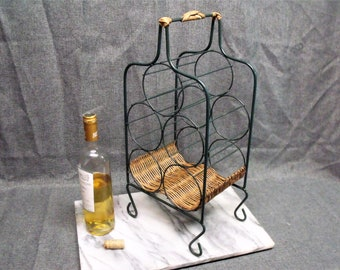 Vintage Farmhouse Wine Rack
