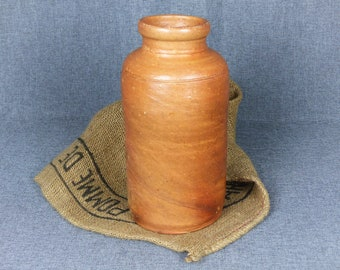 Antique French Earthenware Crock