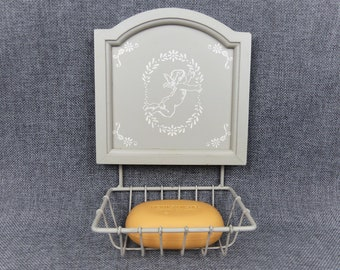 French Country Farmhouse Soap Holder